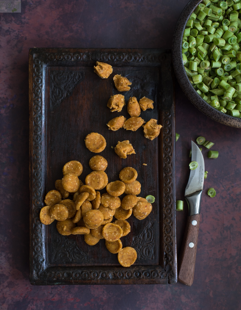 Fansi Dhokli Gujarati Pasta In French Beans Curry